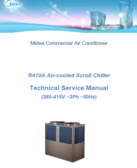 Midea -Air-Cooled Scroll Chiller Technical Manua