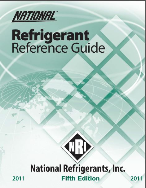 Refrigerants Reference Guide 5th Ed 2011 NRI