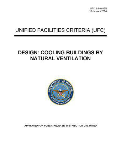 Cooling Buildings By Natural Ventilation 2004 UFC 3-440-06N