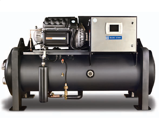 TURBOCOR WATER COOLED BLUE STAR CHILLER