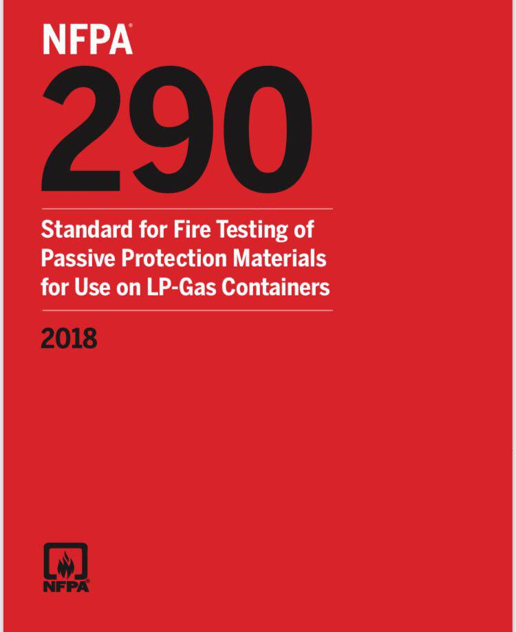 NFPA 290 – Std, Test Passive Prot Mat For LP-Gas Cont – 2018
